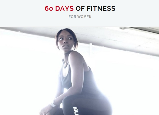 Fitnessprogramme - 60 Days of Fitness Ladies Edition