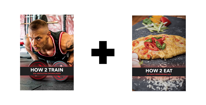 Fitnessprpgramme - how to train + how to eat bundle