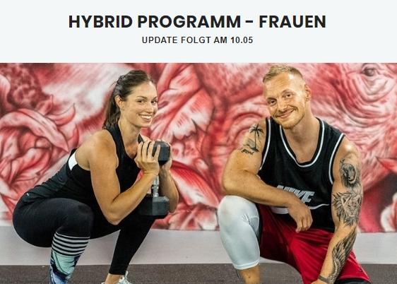 Fitnessprogramme - Hybrid-Programm - Ladies Edition