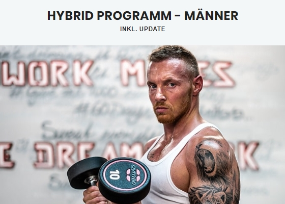 Fitnessprogramme - Hybrid Training Stefan Weißgerber