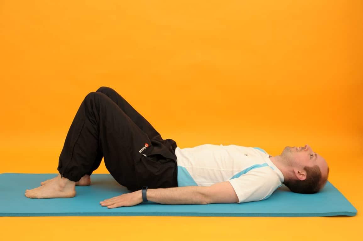 Rückenübungen Nummer NEUN: Rückenbrücke