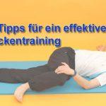 Rückentraining zu Hause mit diesen 10 effektiven Tipps