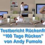Rückenfit Erfahrungen – Testbericht des Rückentraining Programmes von Andy Fumolo