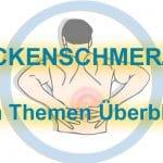 Rückenschmerzen – Alle Themen im Überblick