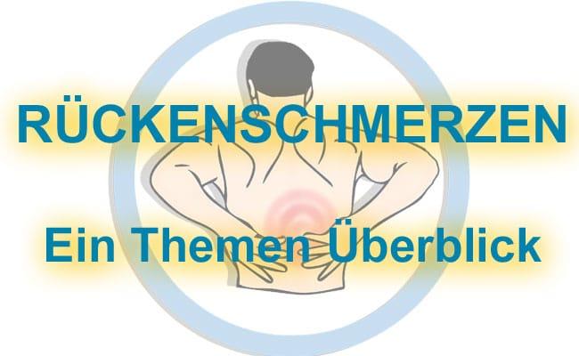 Rückenschmerzen - Alle Themen im Überblick