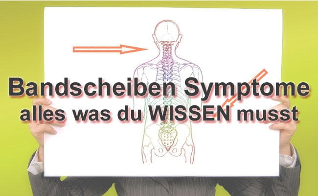 bandscheibenvorfall symptome
