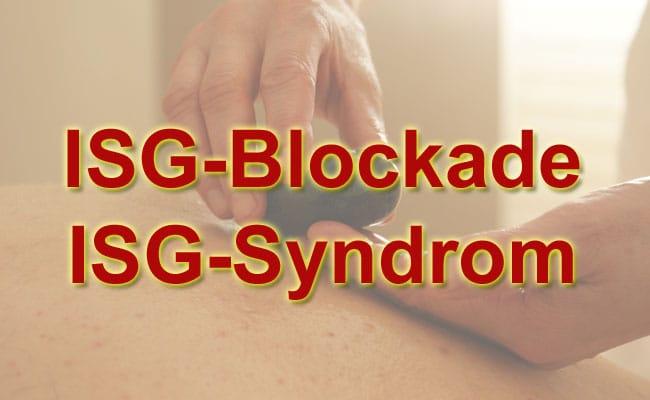 ISG Blokade & ISG Syndrom