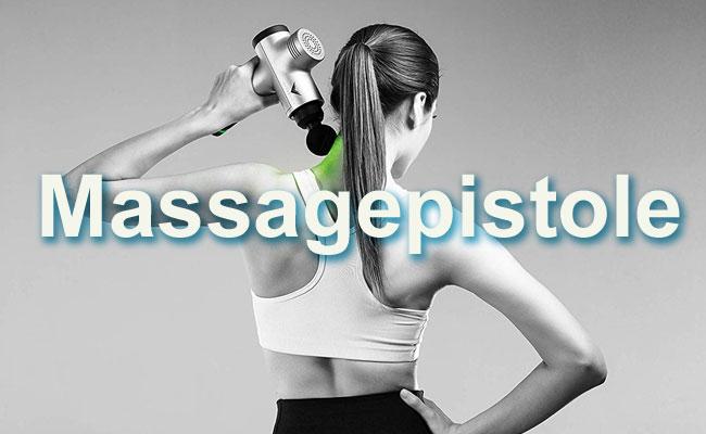 Massagepistole gegen Rückenschmerzen