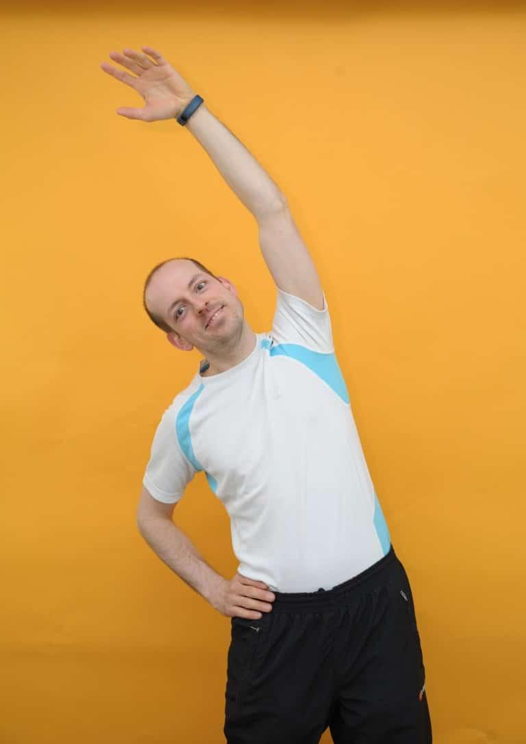 Rückenschmerzen unterer Rücken rechts - 1 Übung, die..