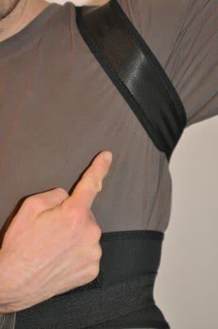Geradehalter Rücken Tencoz - unter den Achseln