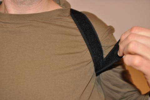 Geradehalter Rücken VITALFABRIK - wird mit Klettbändern befestigt